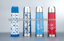 stainless steel double wall thermos vacuum flask
