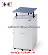 OA new style metal Mobile Pedestal,3-drawer filing Cabinet,office filing storage cabinet