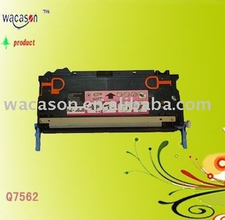 Remanufactured for HP Q7562A Color Toner Cartridge