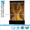 "Chinese Water wall ""Dengpop LED Bubble Panel"" for club high class furniture"