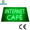 LED green color 3D letter acrylic sign