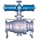 Pneumatic Actuator Stainless Steel Fixed Ball Valve