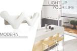 6W new modern acrylic wall lamp wall light