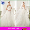 2014 OEM Off Shoulder Lace Appliqued Ball Gown Wedding Dresses China