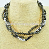 wholesale yiwu jewelry imitation cat eye beads jewelry women necklace