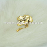 wholesale brooch rhinestone brooch gold plated for women