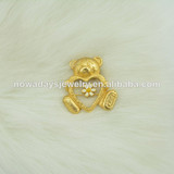 wholesale brooch panda gold plated for women