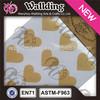 Heart shape sheet paper adhesive sticker