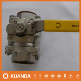 Manual A105 small size ball valve factory