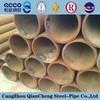 "black hot rolled carbon steel 4"" schedule 40 mild seamless steel pipe price"