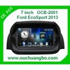 Ouchuangbo Auto Radio Bluetooth TV Stereo System for Ford EcoSport 2013 GPS Navigation iPod USB