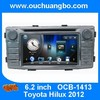 Ouchuangbo Toyota Hilux 2012  multimedia radio DVD GPS