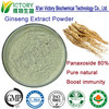 ISO maunfacture offer UV 80% ginsenosides ginseng extract