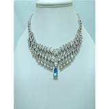 new fashion noble jewelry silver color necklace