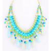 Fashion bead necklace large beaded necklace