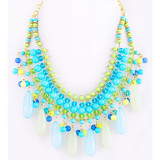 Fashion bead necklace large beaded necklace
