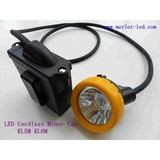 3W USA CREE 10000lux KL5M LED Coal Mining Lamp, Miner Lamp, Miner's Lamp