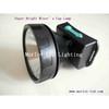 LED Mining Head Lamp/ Headlight LED cordless miner's cap lamp new type