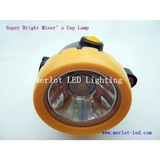 1W LED Wireless Cordless 2Ah Li Ion Mining Headlamp, Miner Lamp, Mining Light
