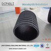 PE HDPE large diameter corrugated plastic drainage pipe