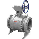 Cast Steel Trunnion Mounted Ball Valves