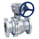 Gear Operated Flange Ball Valves