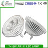 Factory direct sale cob ar111 g53 lamp dimmable leds lighting