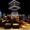 Raindrop crystal chandeliers for dinning room lobby crystal lighting with 5 light