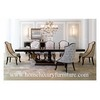 Large table dining table solid dining table antique dining table 8 black dining table TN005L