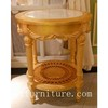 Marble table corner table living room table round table end table side table FC-168C