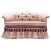 Bedroom sofa bedroom chairs chaise lounge bed end stool love sofa chair TQ-028