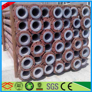 Anti-abrasion carbon steel lining pipeline