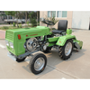four wheels hand tractor