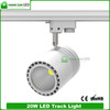 3 phase 4 wires 20W LED track spot light