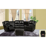 modern leather pretty sectional sofa