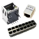 Lan magnetics (RJ45 with transformer)