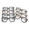 optical frame with metal nose bridge fake wood grain acetate eyeglass frame hot sale in 2014 TA1287 / 7 color / part 1