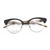 new style eyebrow optical frame metal mix acetate faux wood grain eyeglass frame TA12307 / 7 color / part 2