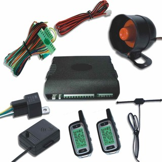 FM Two Way LCD Display Screen Car Alarm System