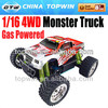 1 16th scale gas rc cars Scale R/C Gas Powered 94286