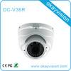 1.0/2.0 Mega Pixel Varifocal Lens Vandalproof IR Dome Camera