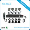 2014 new and HOT CCTV security DIY 8CH 960h DVR Kits,8ch H.264 Dvr Kits,Cctv Camera Waterproof Bullet And Dome Kits System,