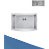304 Stainless Steel Apron Kitchen Sink Single Bowl Sinks