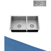 304 Stainless Kitchen Design Sink Double Bowl Sink