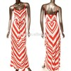 ladies pakistani and indian dress orange and white chevron indian dress design patterns