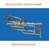 Tig welding, CrMo steel three wheel cycle frame