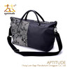 Fashion Canvas Ladies Shoulder Bag Adjustable Strap Canvas Pattern Shoulder Bag