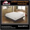latex foam mattress/memory foam mattress/pocket spring mattress