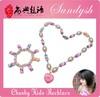 Lovely Handmade Bubblegum Boutique Sugar Bracelet Necklace Kid Child Jewellery Set