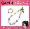 handmade chunky bead necklace kids jewelry sets